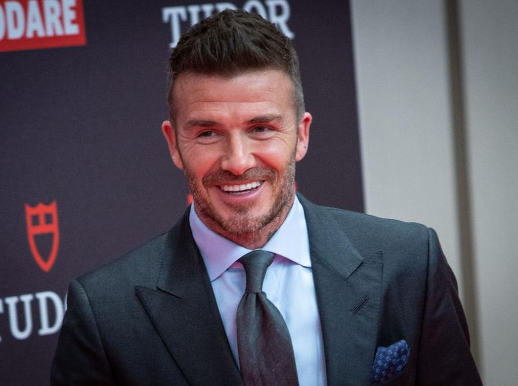 David Beckham Rayu Sergio Ramos