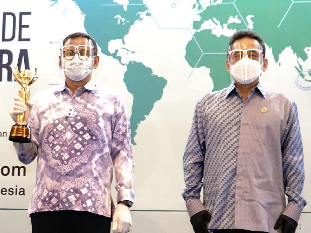 Kinerja Ekspor Sumbang Devisa, Pupuk Kaltim Raih Penghargaan