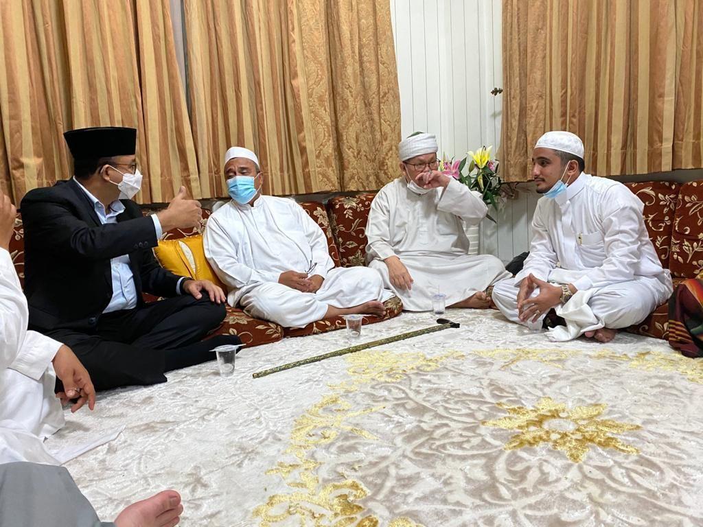 Di Balik Obrolan Habib Rizieq-Anies di Petamburan