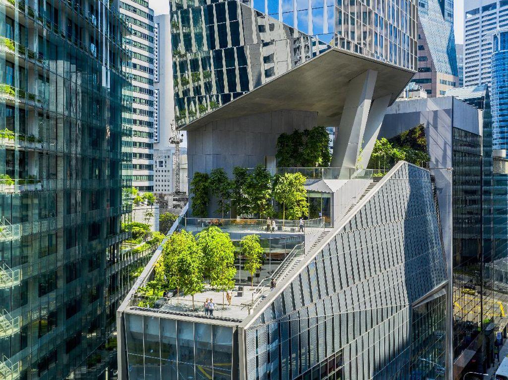 Foto: 10 Gedung Pencakar Langit dengan Arsitektur Estetik