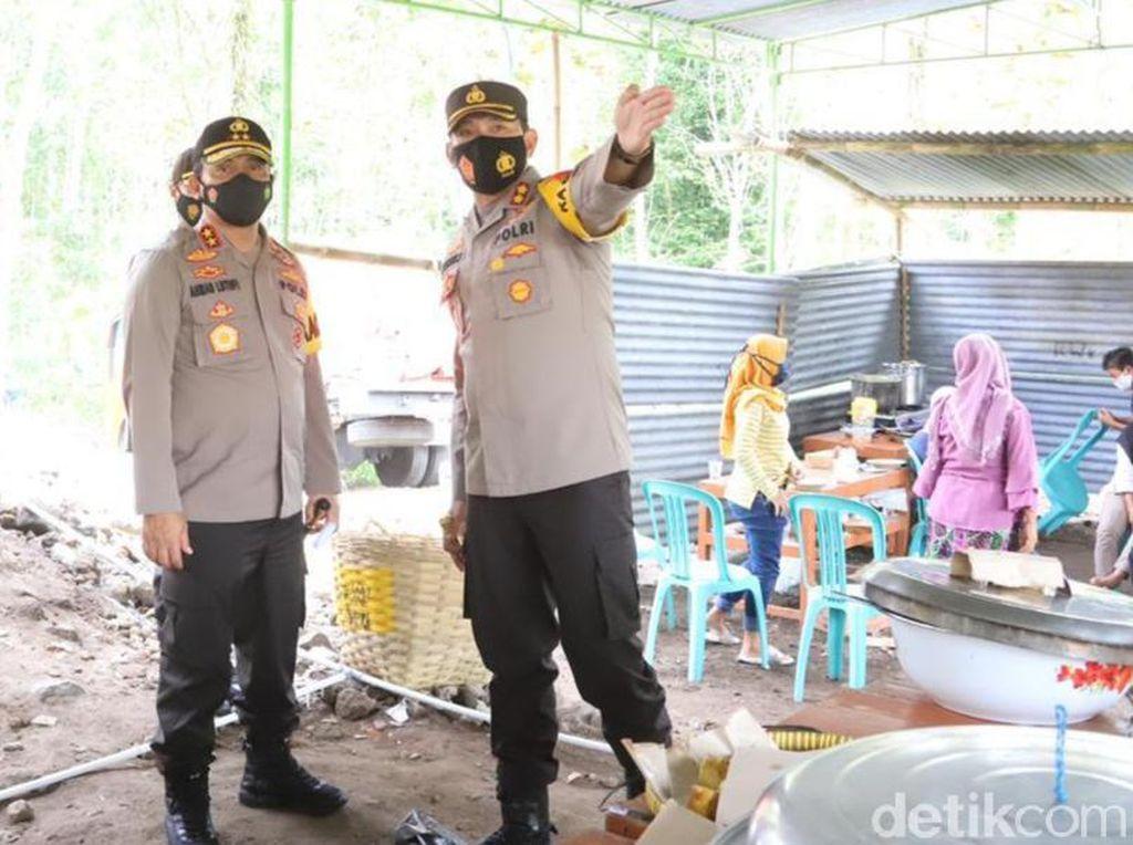 Gunung Merapi Siaga, 420 Polisi Dikerahkan untuk Backup Relawan