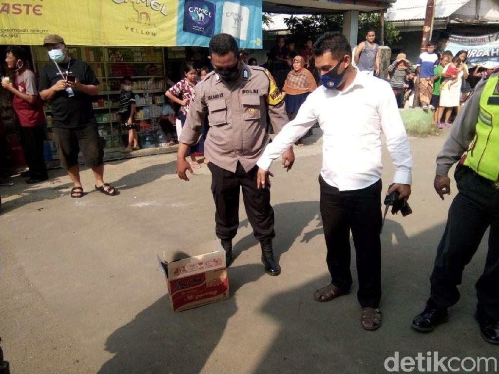 Janin Diduga Korban Aborsi Dibuang di Tengah Jalanan Kota Bogor
