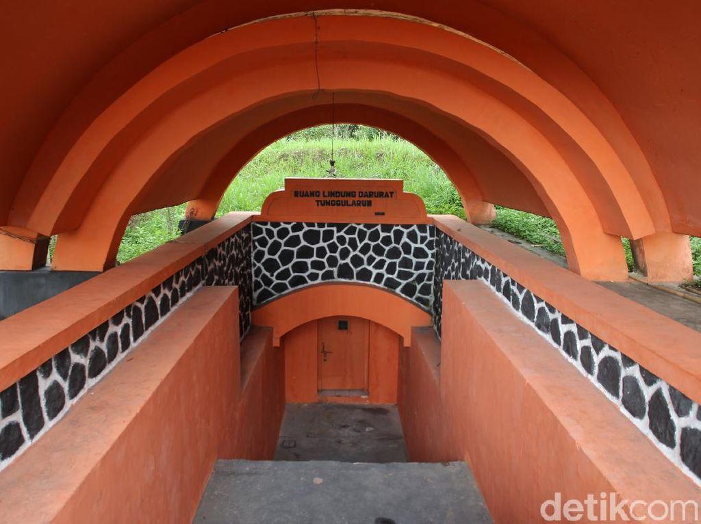 Melihat Lebih Dekat Bunker Lereng Selatan Gunung Merapi