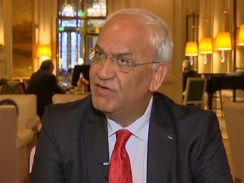 Berpulangnya Negosiator Senior Perdamaian Palestina Saeb Erekat