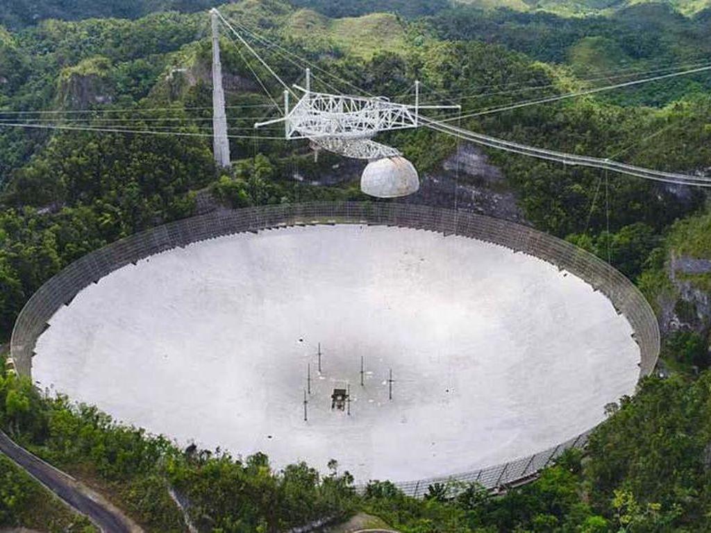 Teleskop Raksasa Pelacak Asteroid dan Alien Rusak