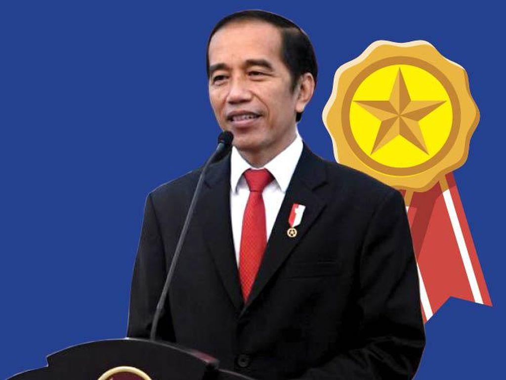 Tanda Kehormatan dari Jokowi, untuk....