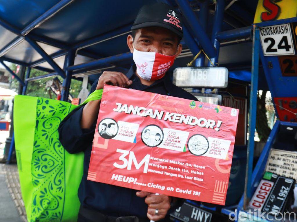 Sosialisasi 3M Terus Digencarkan di Bandung