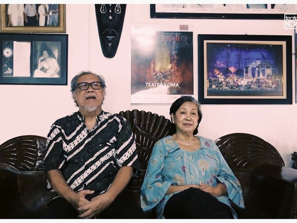 Dokumenter Catatan Tanpa Selesai Teater Koma Digarap Selama 8 Tahun