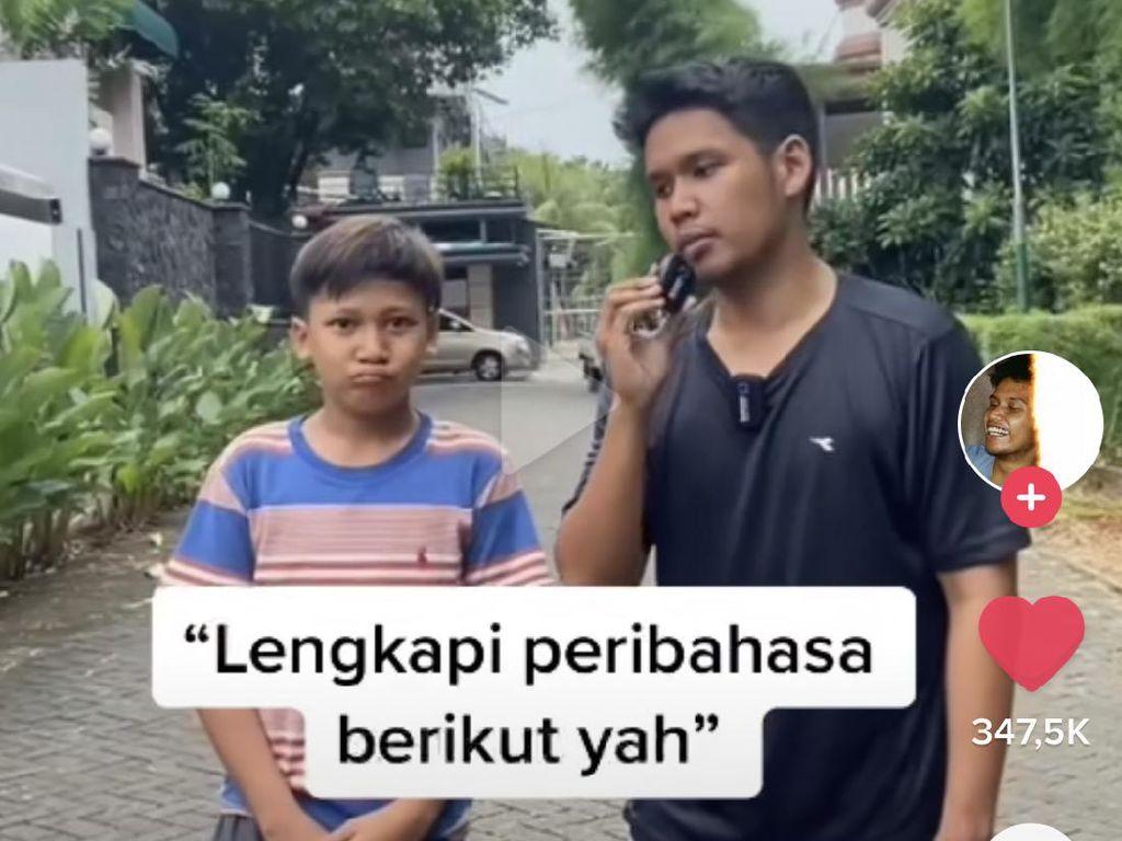Viral di TikTok Anak-anak Gen Z Tak Tahu Peribahasa Berakit-rakit ke Hulu