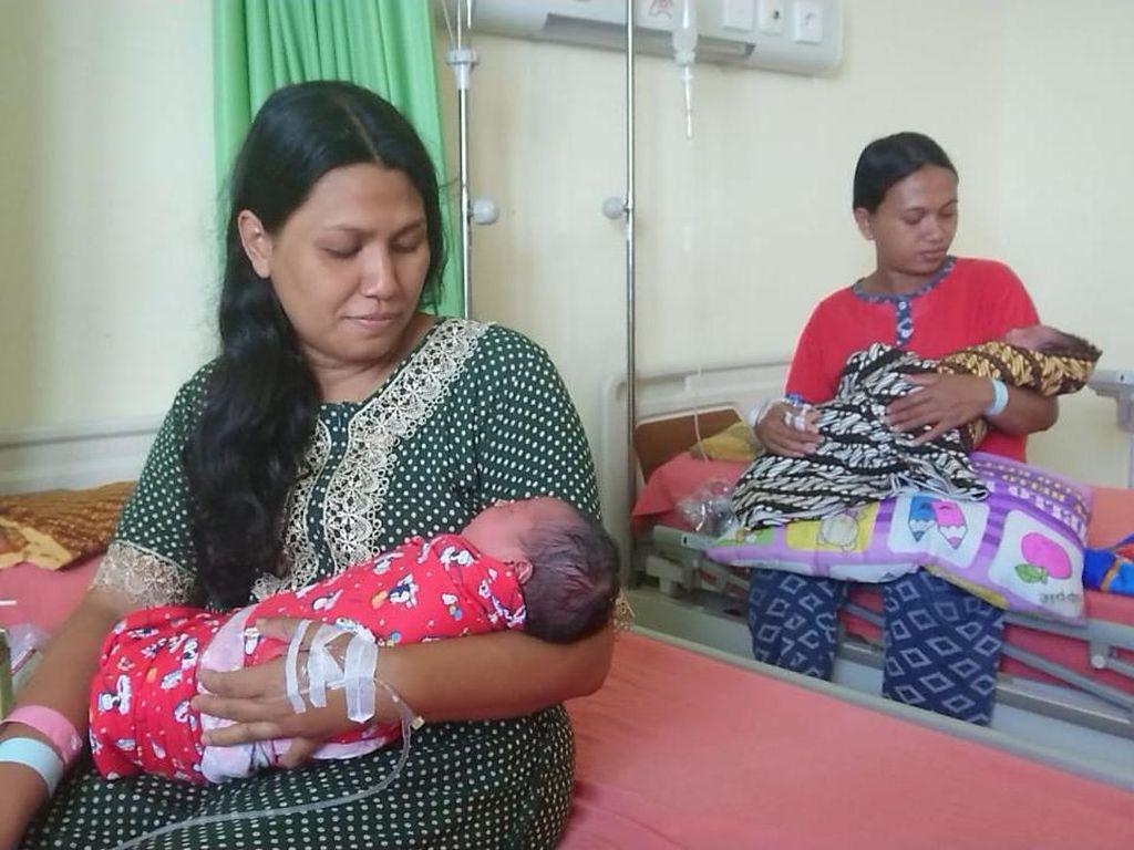 Momen 7 Ibu di Trenggalek Melahirkan Normal Pada Tanggal Cantik 11-11