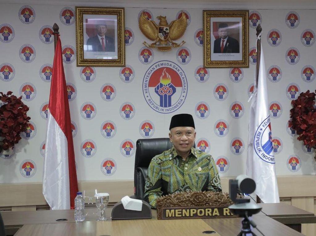 Menpora Upayakan Timnas Indonesia Dapat Prioritas Vaksin
