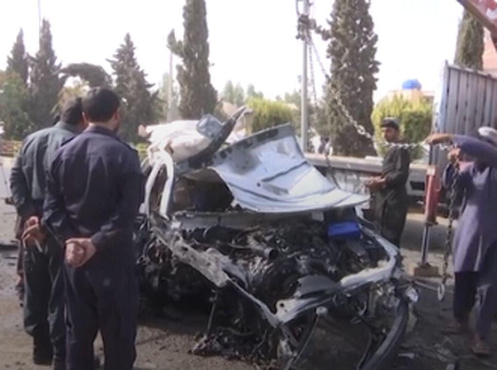 Bom Mobil Meledak di Afghanistan Tewaskan Jurnalis, Diduga Dibunuh