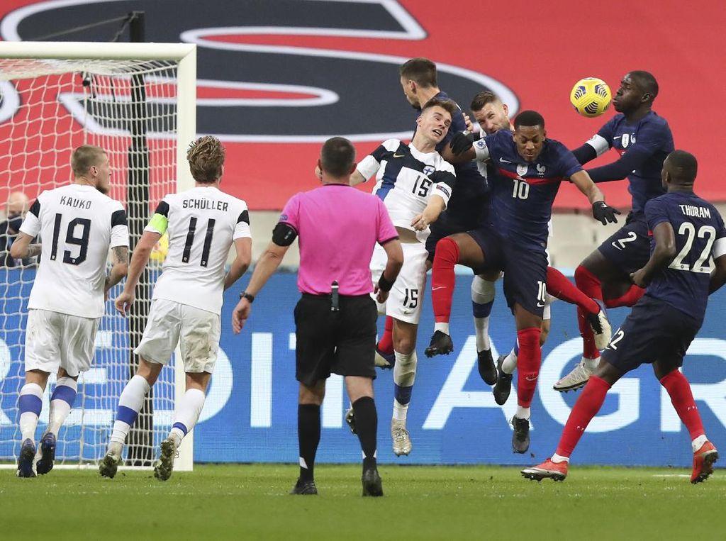 Video Prancis Takluk 0-2 dari Finlandia di Kandang