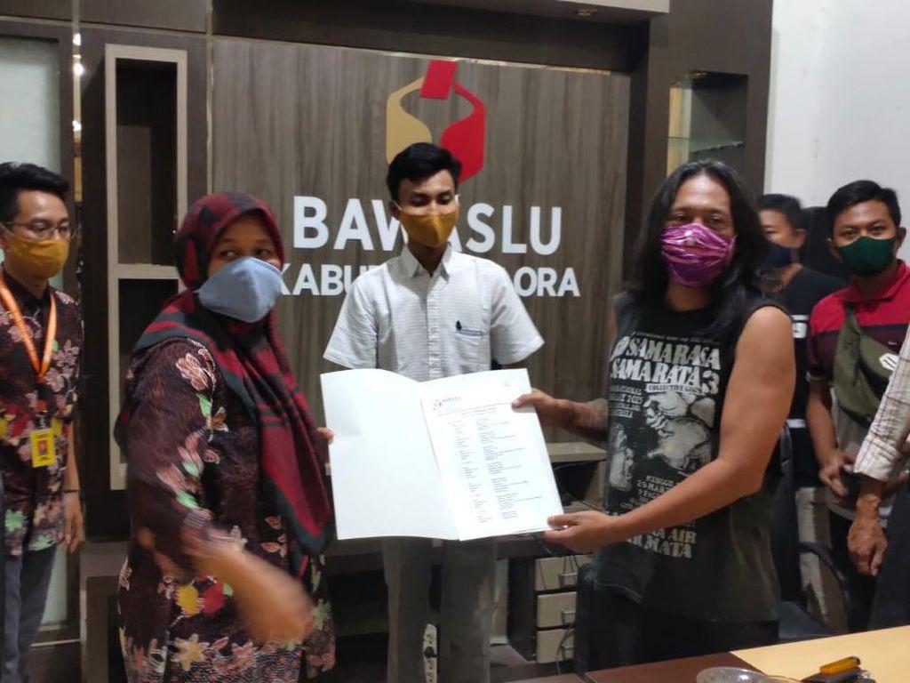 Dilaporkan Bagi-bagi Bantuan Isi Masker Paslon, Bupati Blora Angkat Bicara