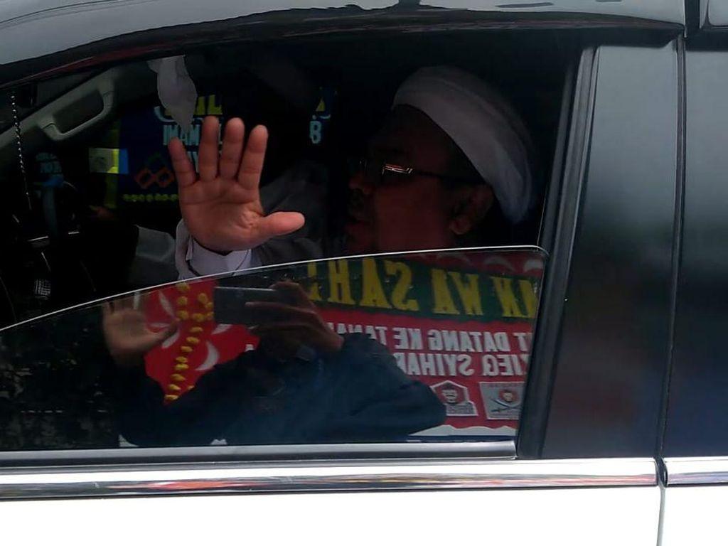 H+2 Pulang ke RI, Habib Rizieq Akan Hadiri Maulid di Pondok Ranggon Jaktim