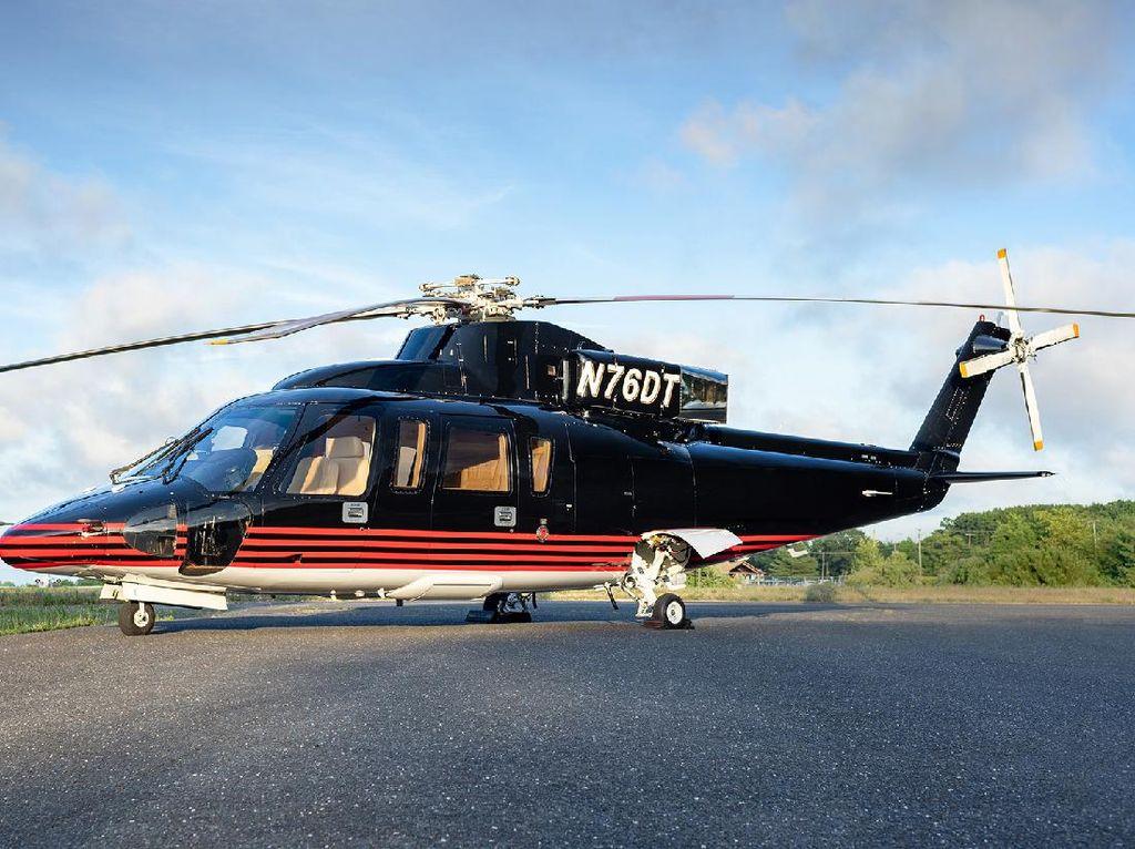 Ini Helikopter Mewah Donald Trump yang Dijual Puluhan Miliar