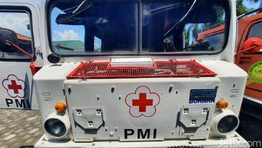Hagglund Kendaraan Taktis untuk Evakuasi Warga Merapi