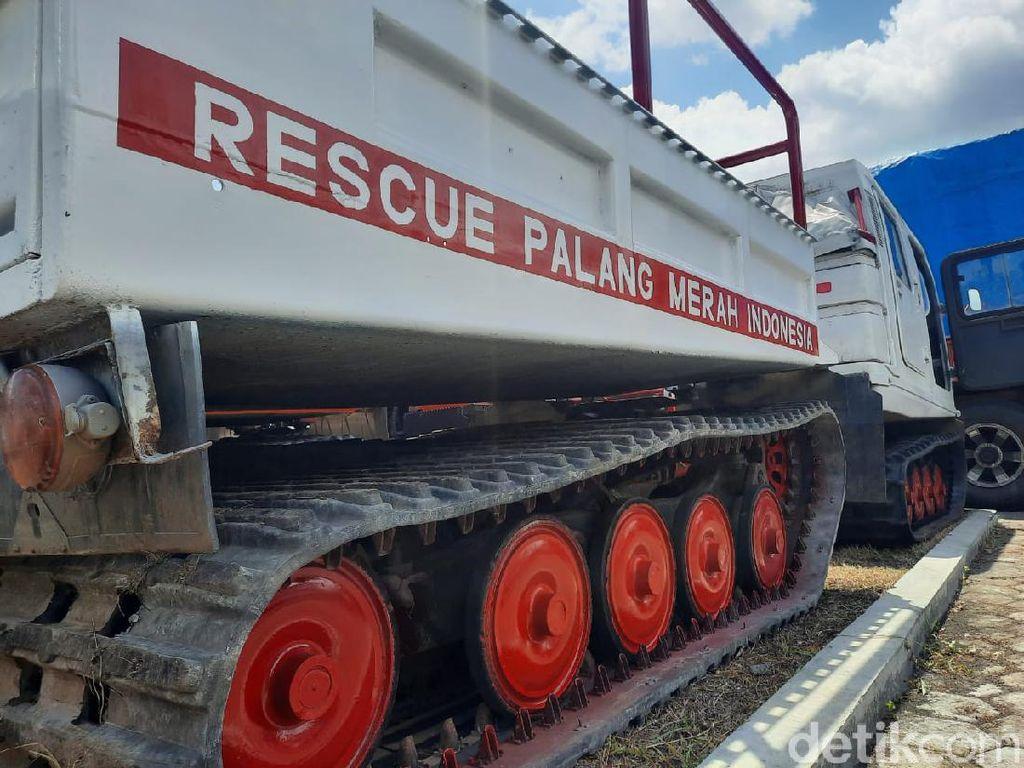 Hagglund, Kendaraan Taktis Mirip Tank untuk Evakuasi Warga Merapi