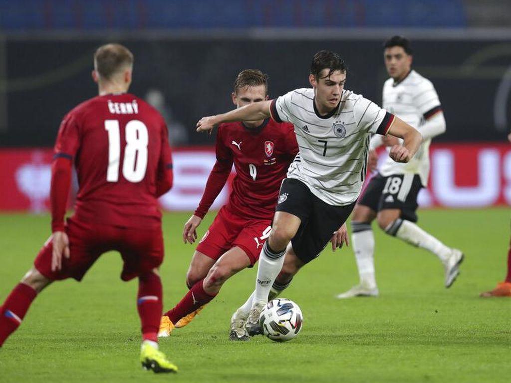 Laga Persahabatan: Jerman Menang 1-0 atas Republik Ceko