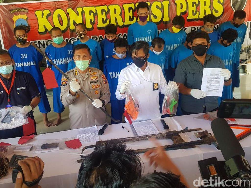 Komplotan Pencuri Kabel Telepon Ditangkap Polda Jateng