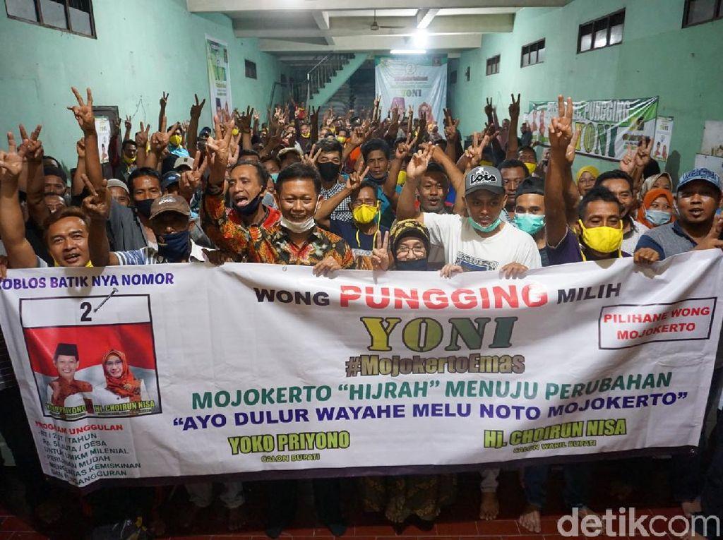 Menangkan Yoko-Nisa di Pilbup Mojokerto, Wong Pungging Incar 80% Suara