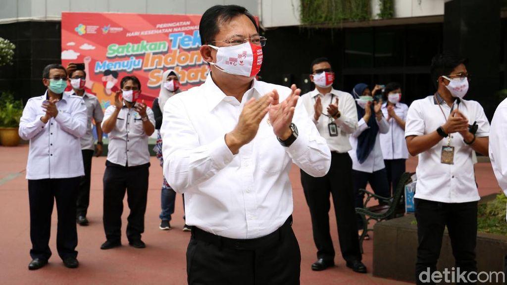 Terawan Ikut Rayakan Hari Kesehatan Nasional