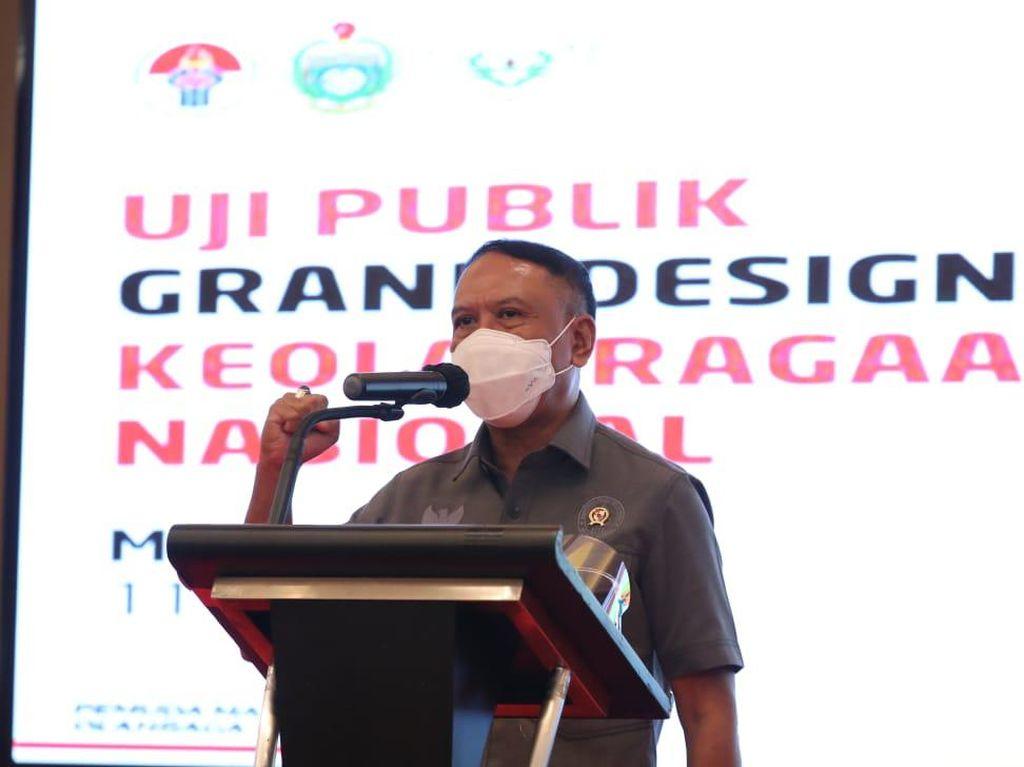 Kemenpora Uji Publik Grand Design Keolahragaan Nasional di Sumut
