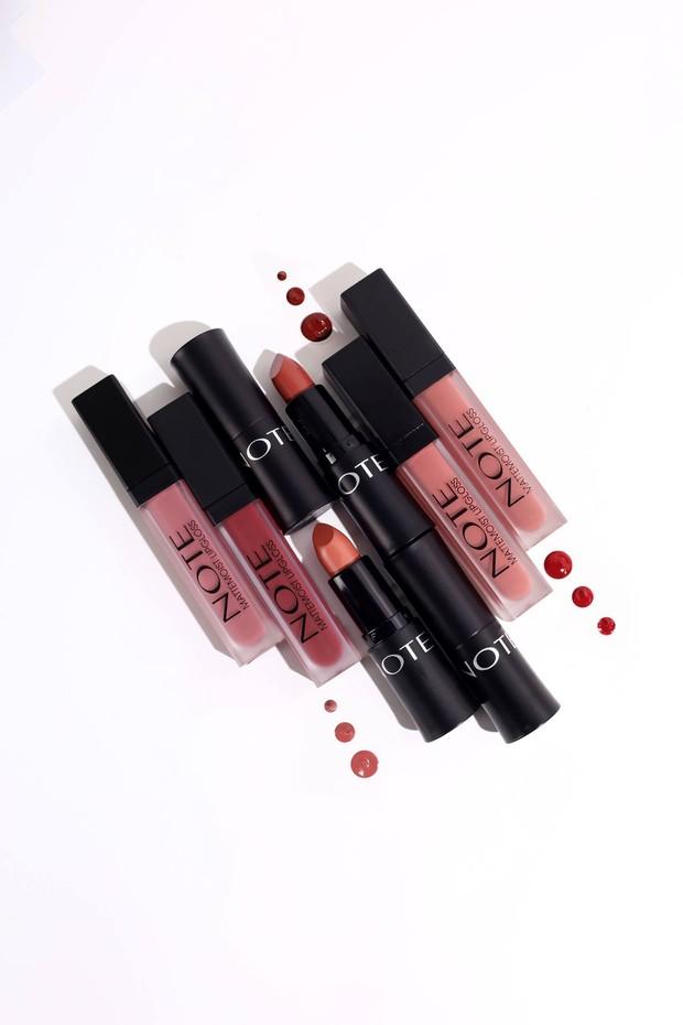 NOTE Cosmetics - Mattemoist Lipstick & Lip Liquid