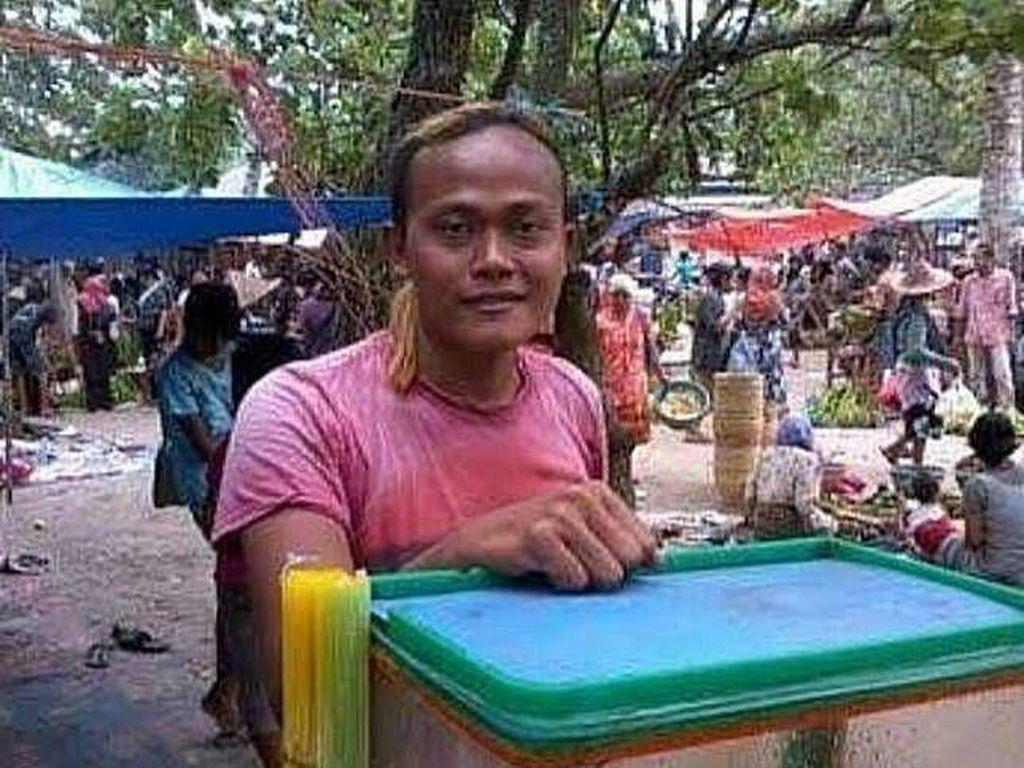 7 Potret Pedagang Viral, Wajahnya Mirip Artis Indonesia dan Luar Negeri