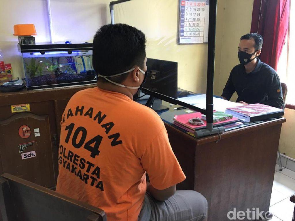 Berawal Saling Tatap, Pria Ini Bacok 2 Pemotor di Jalanan Yogya