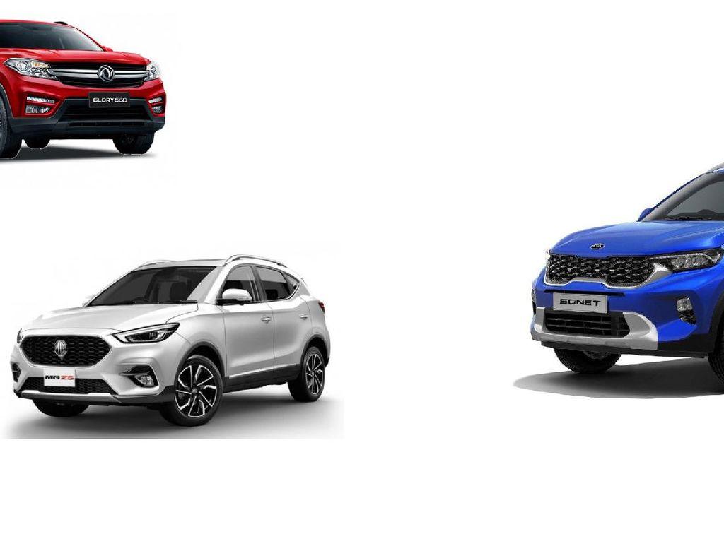 Dobrak Low SUV, Ini Perbandingan Harga KIA Sonet dengan Rush, Terios, sampai BR-V