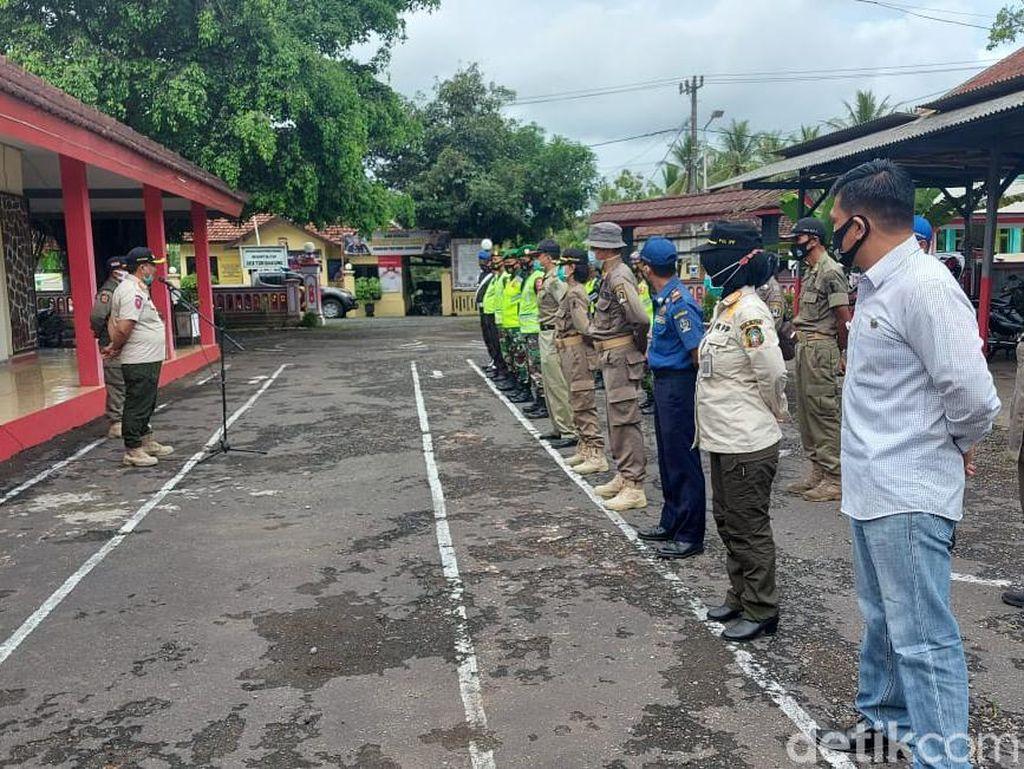Stagnan di Zona Oranye COVID-19, Pj Bupati Blitar Perluas Operasi Yustisi