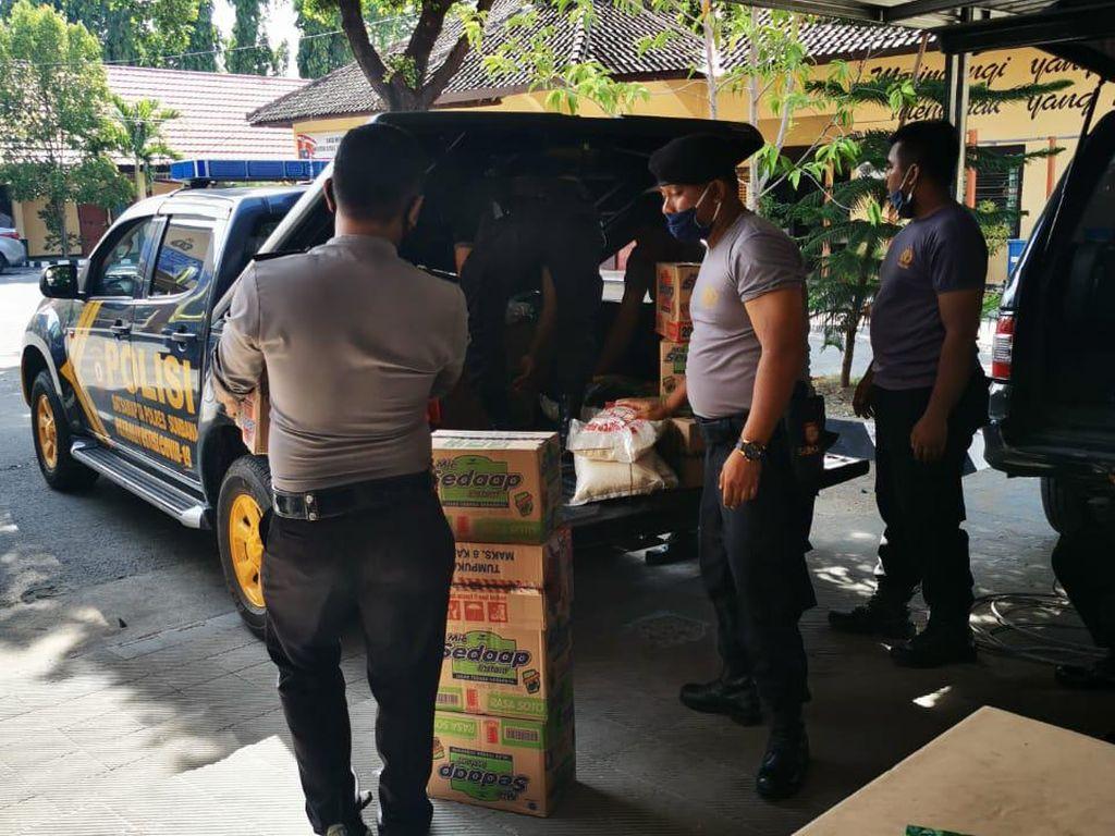 Polres Sumbawa Kirim Bantuan ke Korban Puting Beliung di 3 Kecamatan