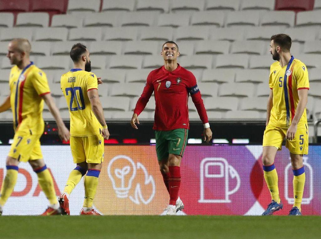Cetak Gol ke-102 di Timnas Portugal, Apa Kata Ronaldo?