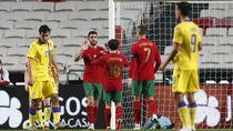 Video Portugal Menggila! Cukur Andorra 7 Gol Tanpa Balas