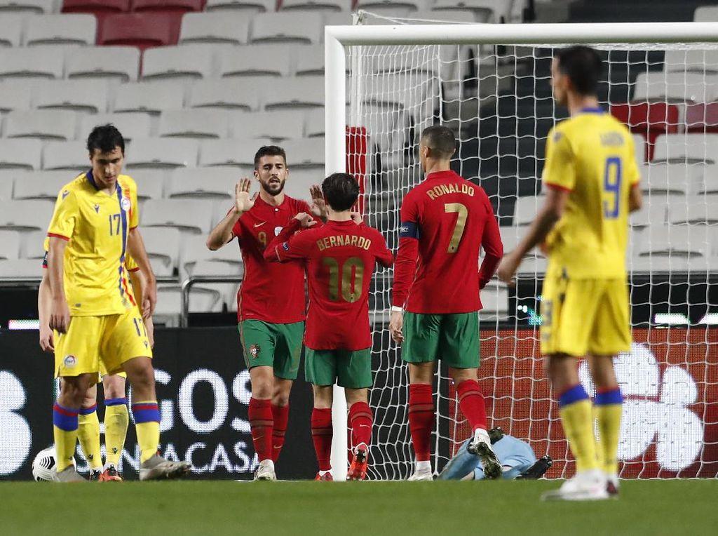 Laga Persahabatan: Portugal Bungkam Andorra 7-0