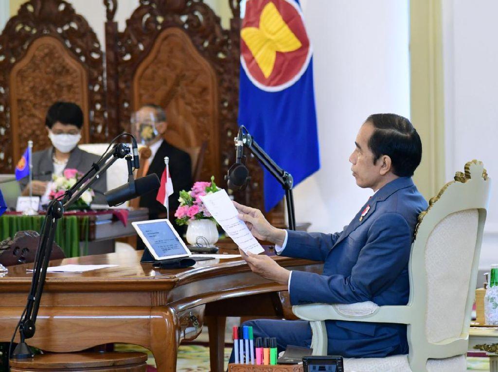 Jokowi Hadiri 5 KTT ASEAN, Ini Topik yang Diusung RI