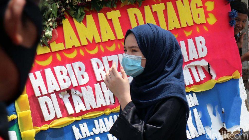 Suasana Terkini di Markas FPI Petamburan Jakarta