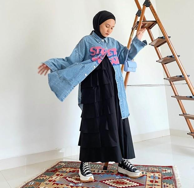 Inspirasi fashion style untuk bumil
