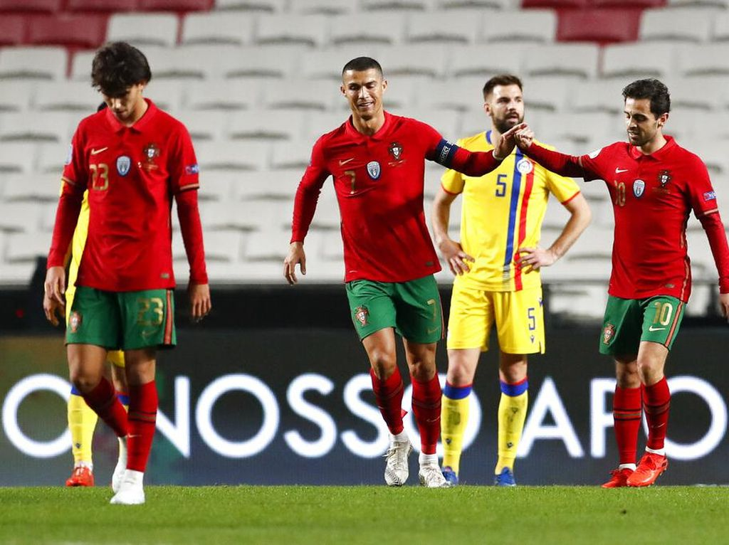 UEFA Nations League: Portugal Berani Pasang 4 Striker Lawan Prancis?