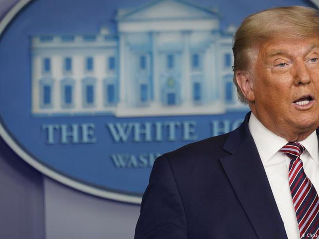 Stimulus Corona Disetujui Trump, Bursa AS Menguat