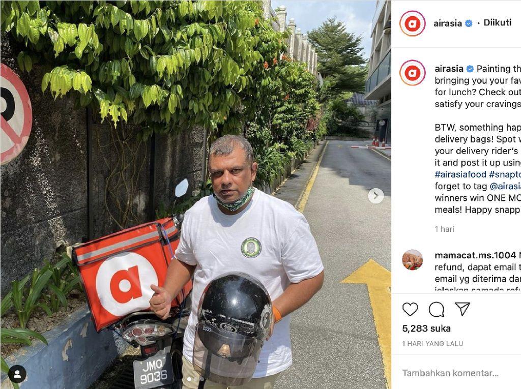 AirAsia Rambah Ojol Antar Makanan di Singapura, Jokowi Gaungkan Benci Produk Asing