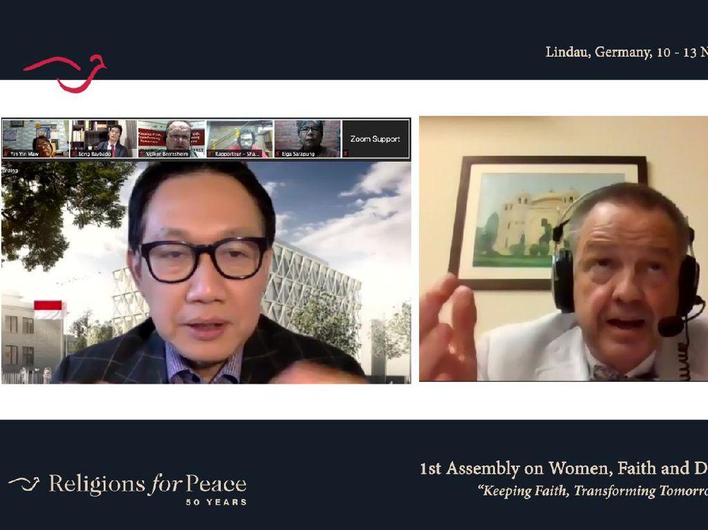Dubes RI Bicara Pentingnya Peran Wanita dalam Diplomasi Antar Agama