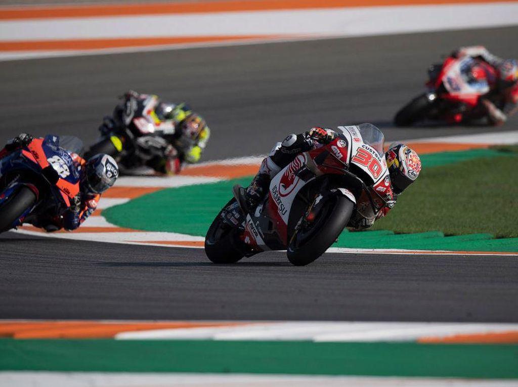 Hasil FP1 MotoGP Valencia: Nakagami Tercepat, Mir di Posisi 8