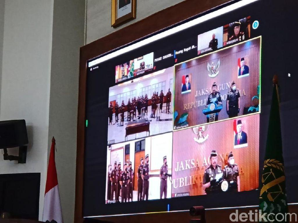 Jaksa Agung Lantik 57 Anggota Satgas Khusus Jampidsus Kejagung