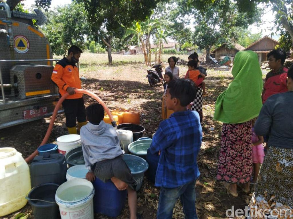 Intensitas Hujan Rendah, Kekeringan di Situbondo Meluas Hingga ke 18 Dusun