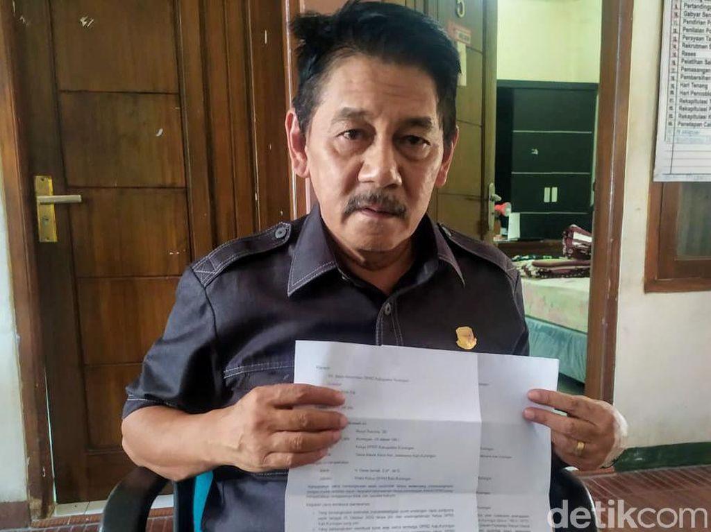 Ketua DPRD Kuningan Laporkan 3 Wakilnya ke Badan Kehomatan