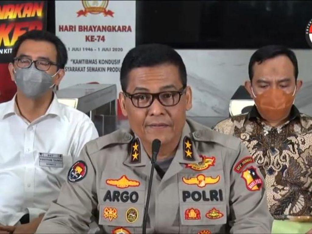 Polri Beberkan Peran 3 Tersangka Baru Kasus Kebakaran Kejagung