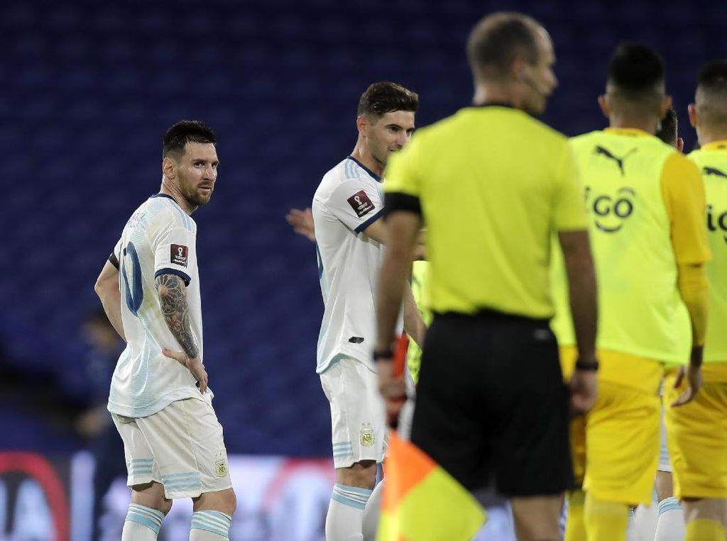 Gol Lionel Messi Dianulir, Pelatih Timnas Argentina Kritik VAR