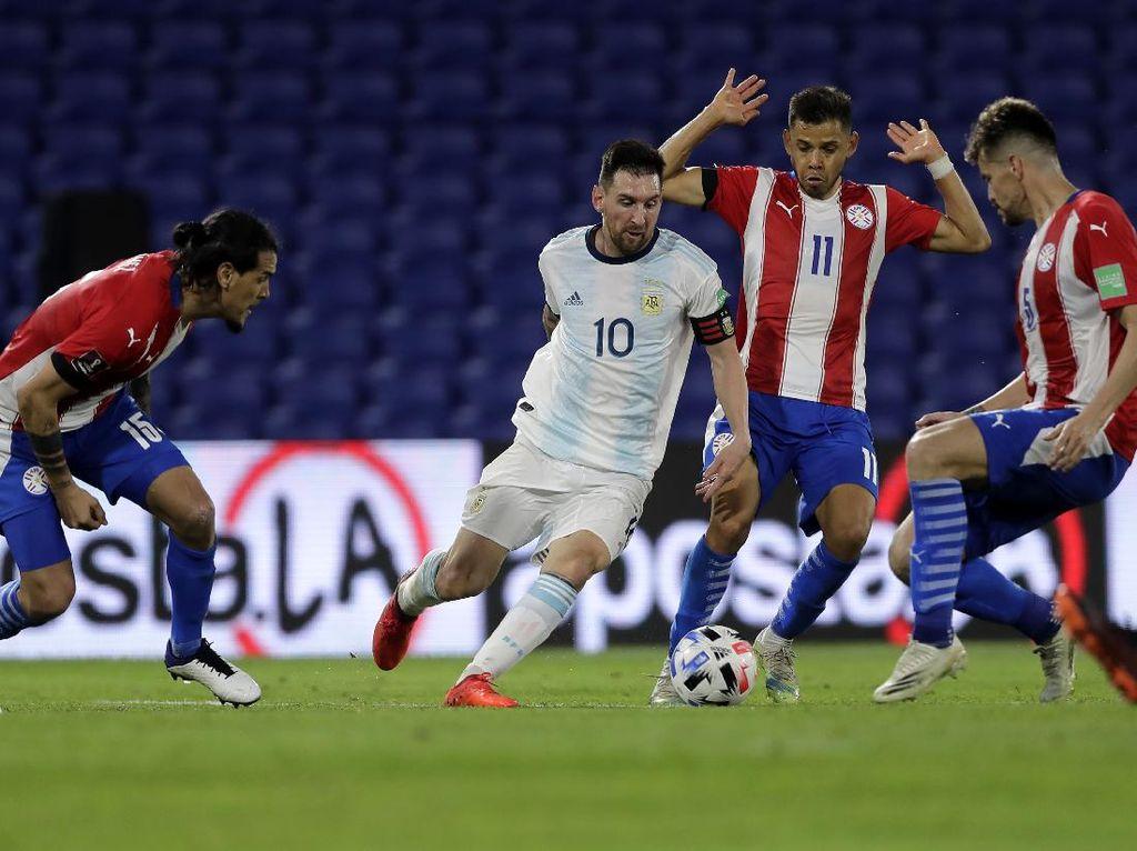 Messi Vs Paraguay: Dibuat Frustasi, Cetak Gol Tapi Dianulir VAR